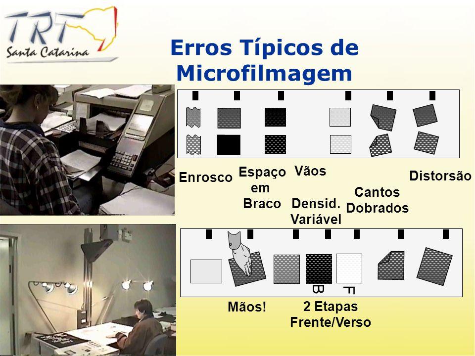Captura e indexação Microfilmadora Eletrônica: Processo Reduz Trabalho e Manutenção Qualidade do Filme Opções de Saída Captura e indexação