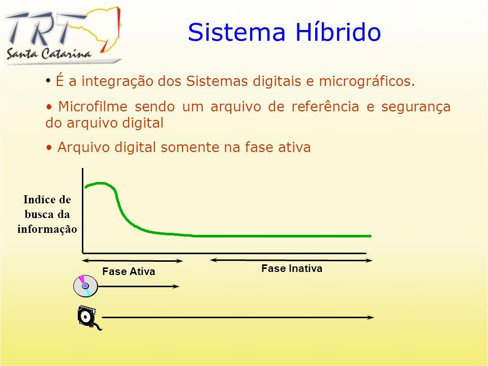 Sistema Híbrido É a integração dos Sistemas digitais e micrográficos.