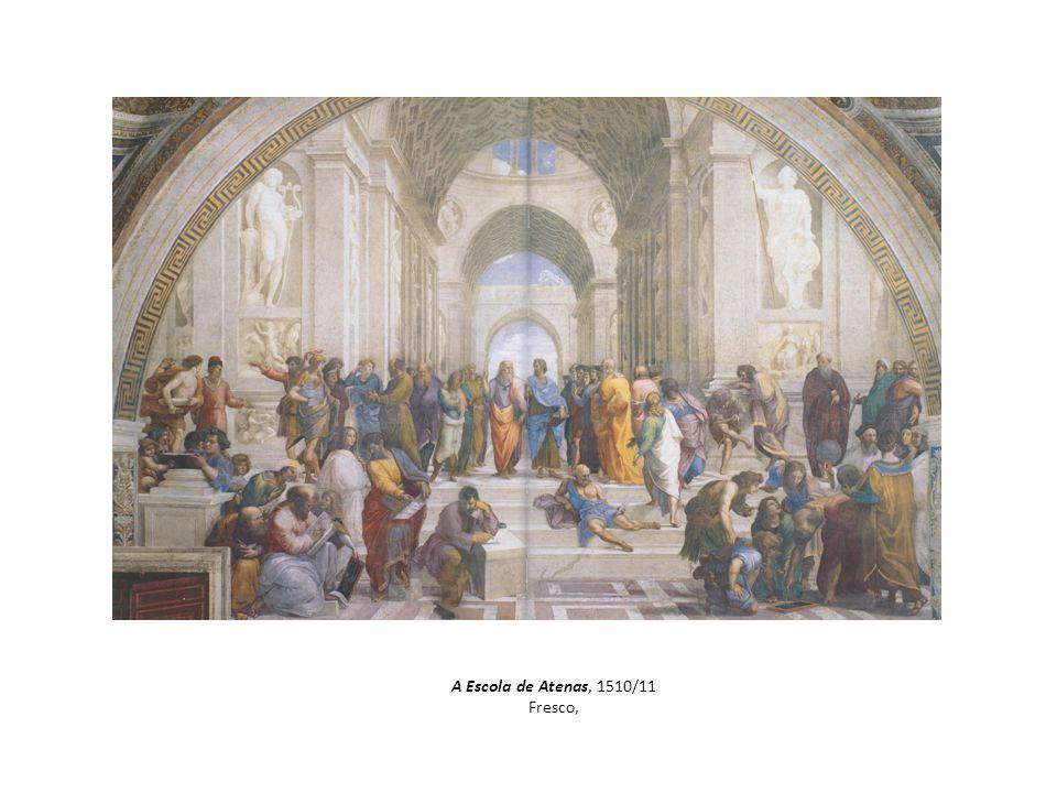 A Escola de Atenas, 1510/11 Fresco,