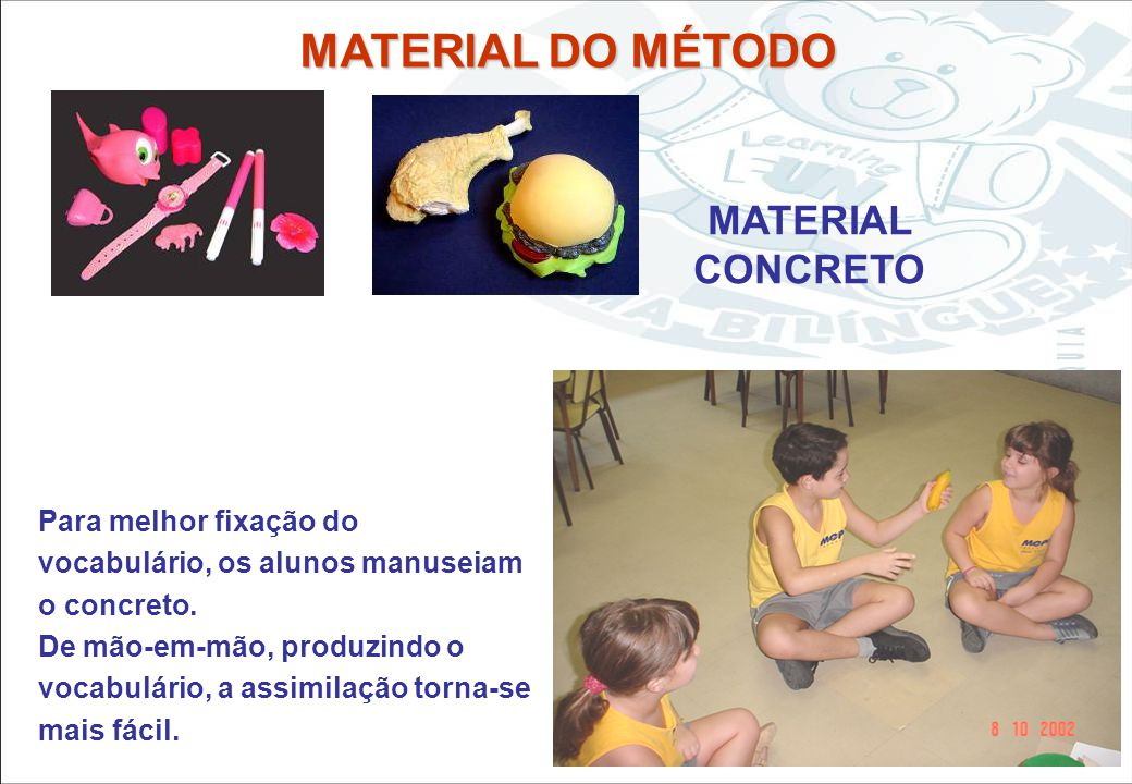 Sistema Learning Fun de Franquia MATERIAL DO MÉTODO