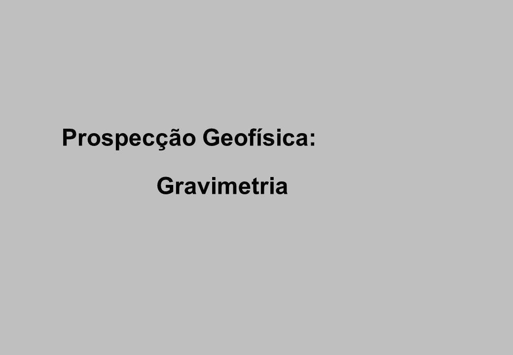 Prospecção Geofísica: Gravimetria