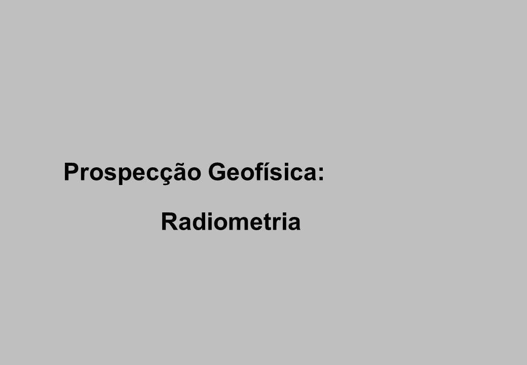 Prospecção Geofísica: Radiometria