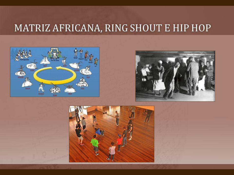 MATRIZ AFRICANA, RING SHOUT E HIP HOPMATRIZ AFRICANA, RING SHOUT E HIP HOP