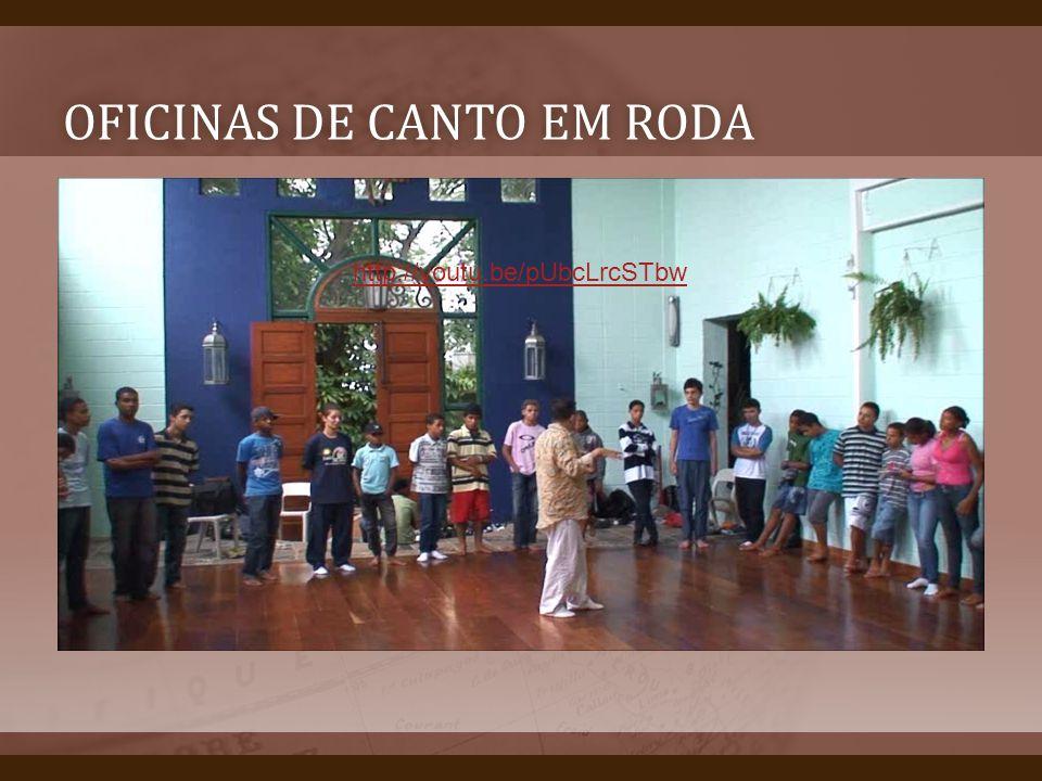 OFICINAS DE CANTO EM RODAOFICINAS DE CANTO EM RODA Oficinas canto em roda http://youtu.be/pUbcLrcSTbw