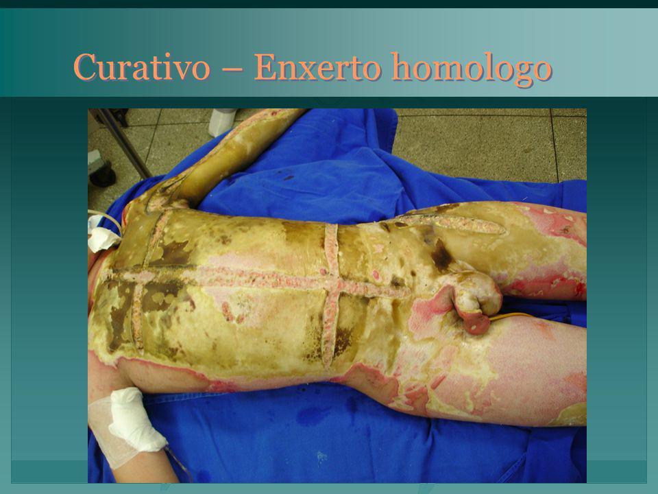 Curativo – Enxerto homologo