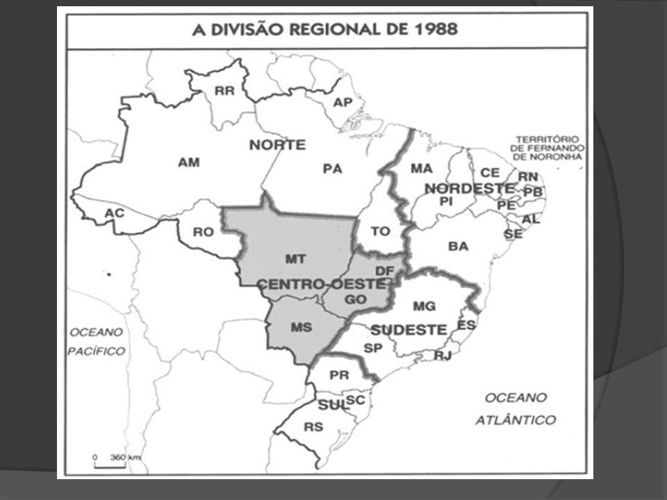 Revisão da Divisão Regional pós-1960.