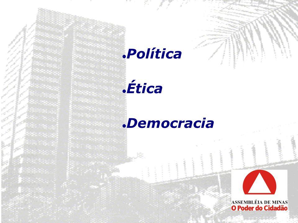Política Ética Democracia