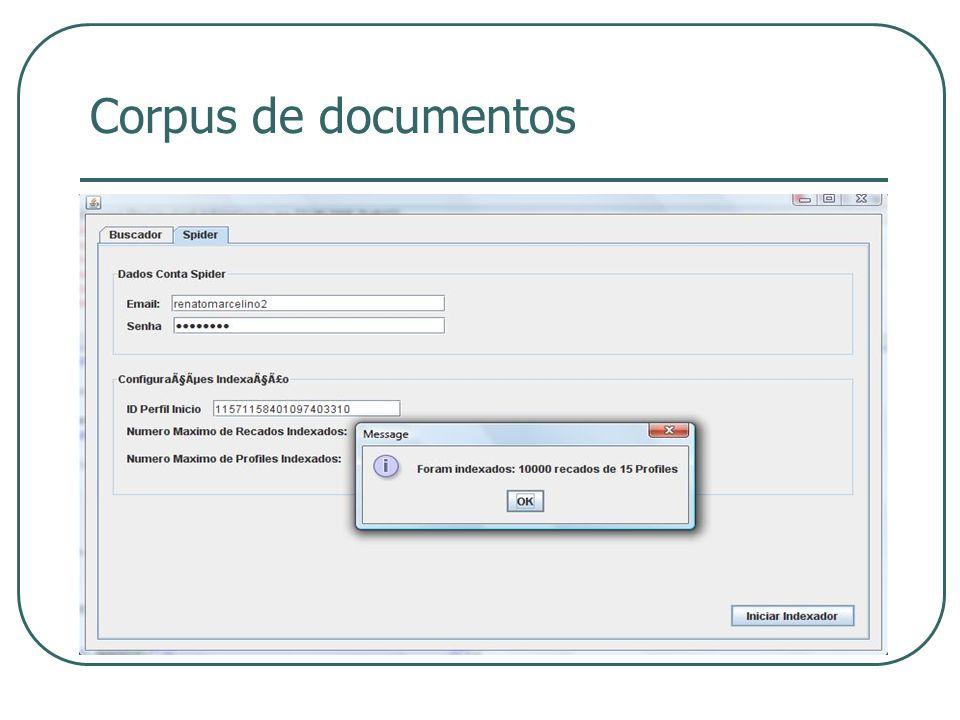 Corpus de documentos