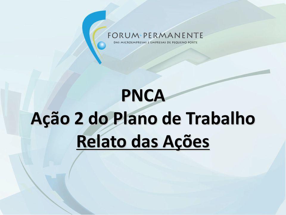 Rede Brasileira de Informação aos Pequenos Negócios Ação 1 do Plano de Trabalho Composição do GT