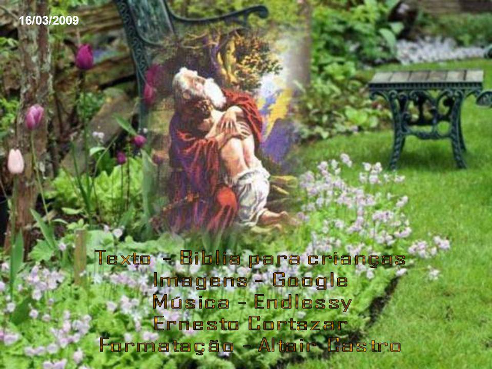 Seguindo a ordem de Deus, Abraão preparou um altar, colocou lenha, amarrou Isaac e o colocou sobre o altar, por cima da lenha.