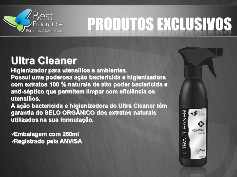 Ultra Cleaner Higienizador para utensílios e ambientes.