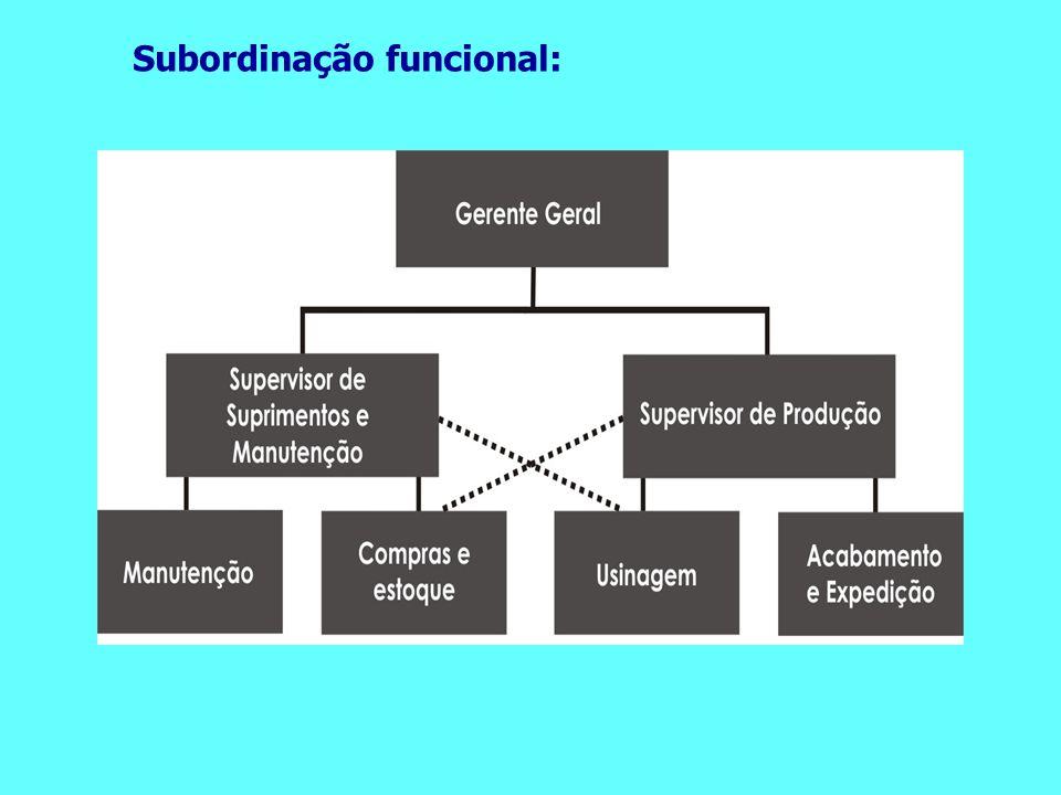 Subordinação funcional: