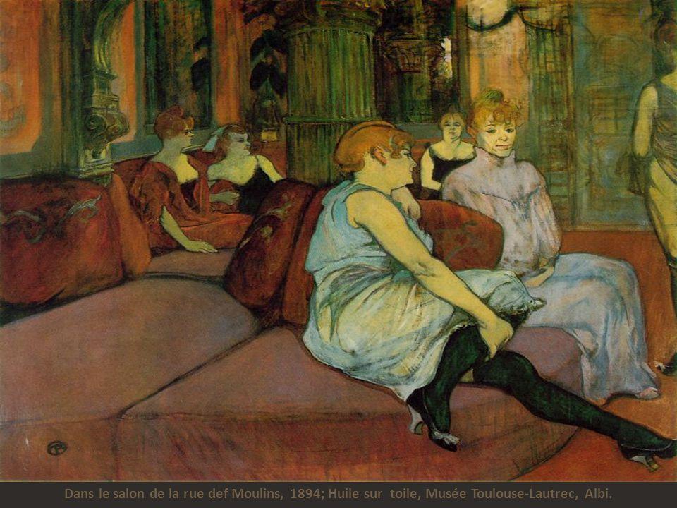 Désiré Dihau qui lit un journal dans le jardin, 1890; huile sur carte, Musée Toulouse-Lautrec, Albi.