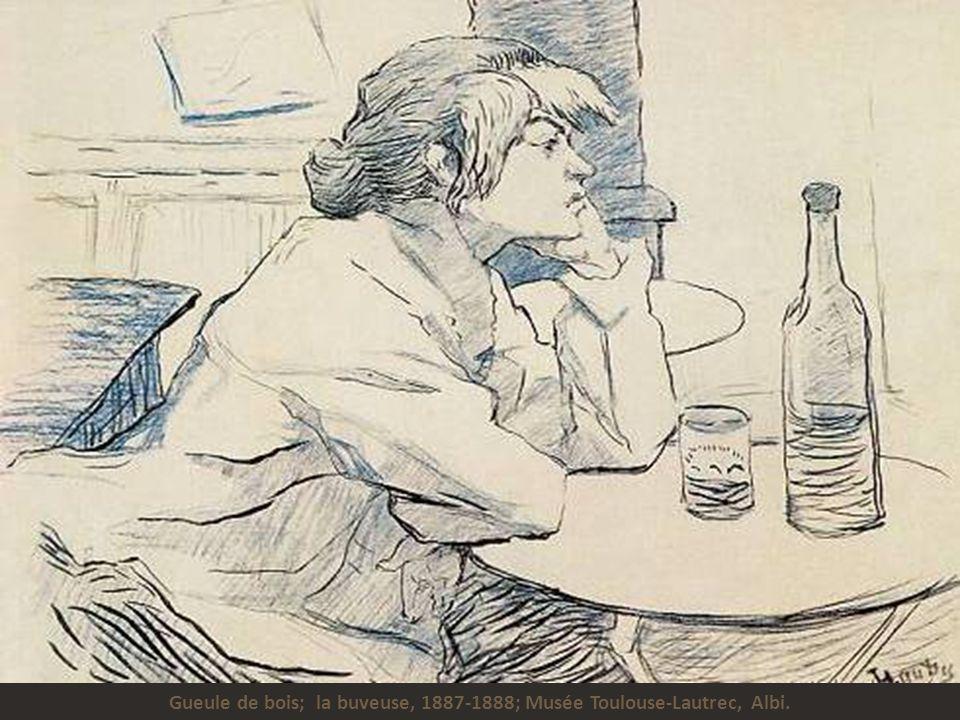 Mademoiselle May Belfort à l'Irish american bar de la rue Royale, 1895; Musée Toulouse-Lautrec, Albi.