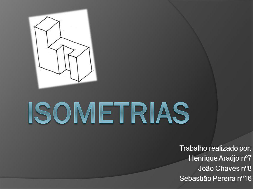 Índice Definição de Isometria Figuras Isométricas Exemplos de Isometria (Simetria) na Arquitectura