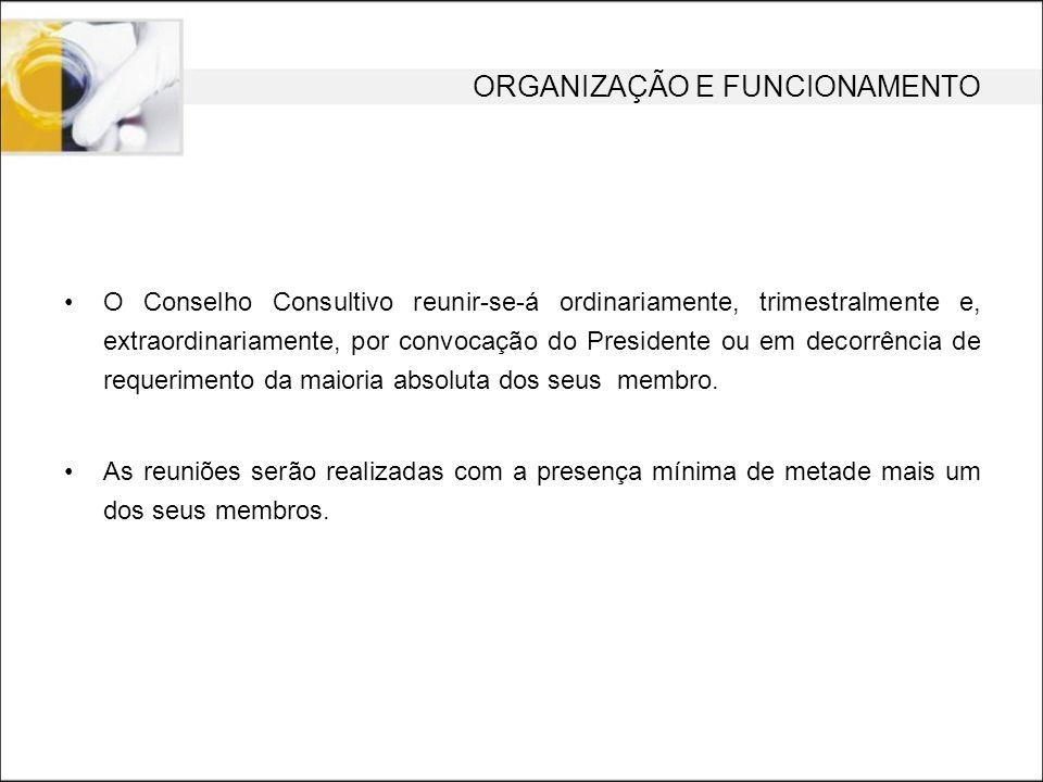 CONSELHO CONSULTIVO Designação dos Conselheiros: Port.