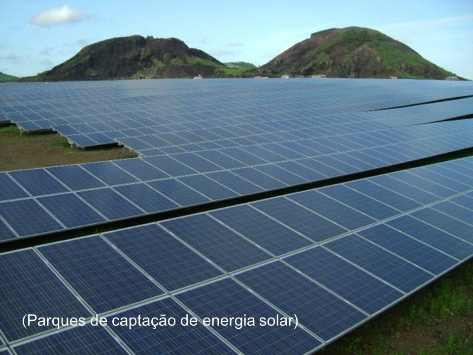 ( Parques de captação de energia solar)