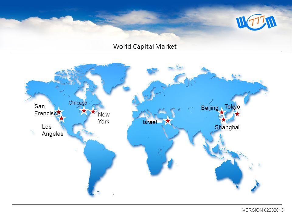 World Capital Market VERSION 02232013 Investimentos em mais de 700 instituições!!!