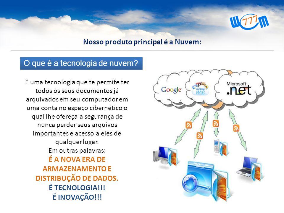 O que é a tecnologia de nuvem.