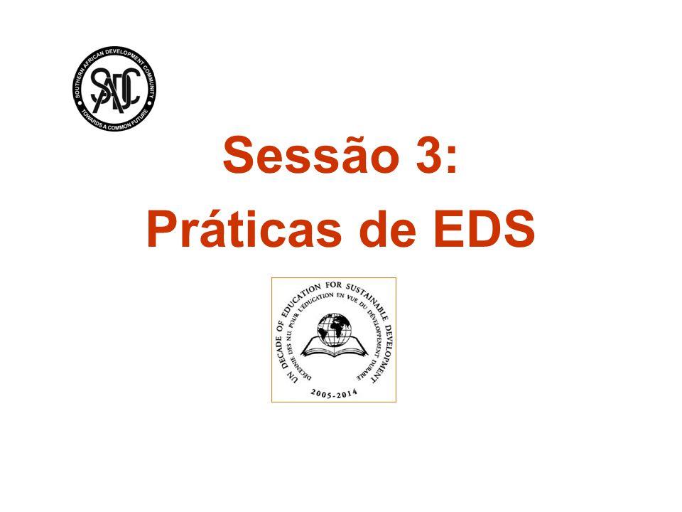 Sessão 3: Práticas de EDS