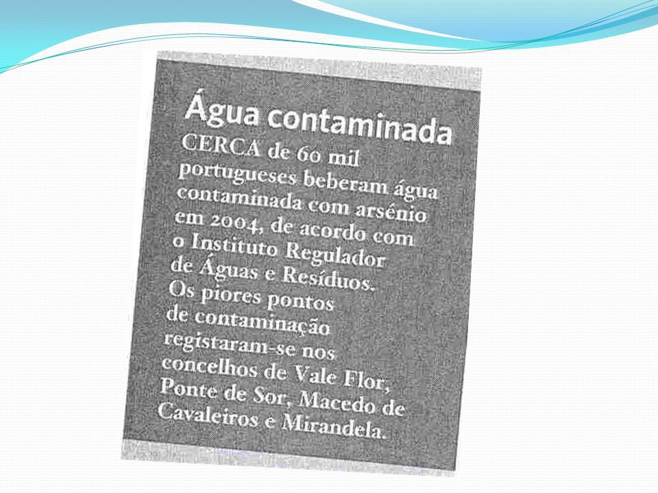 Água Contaminada mata…