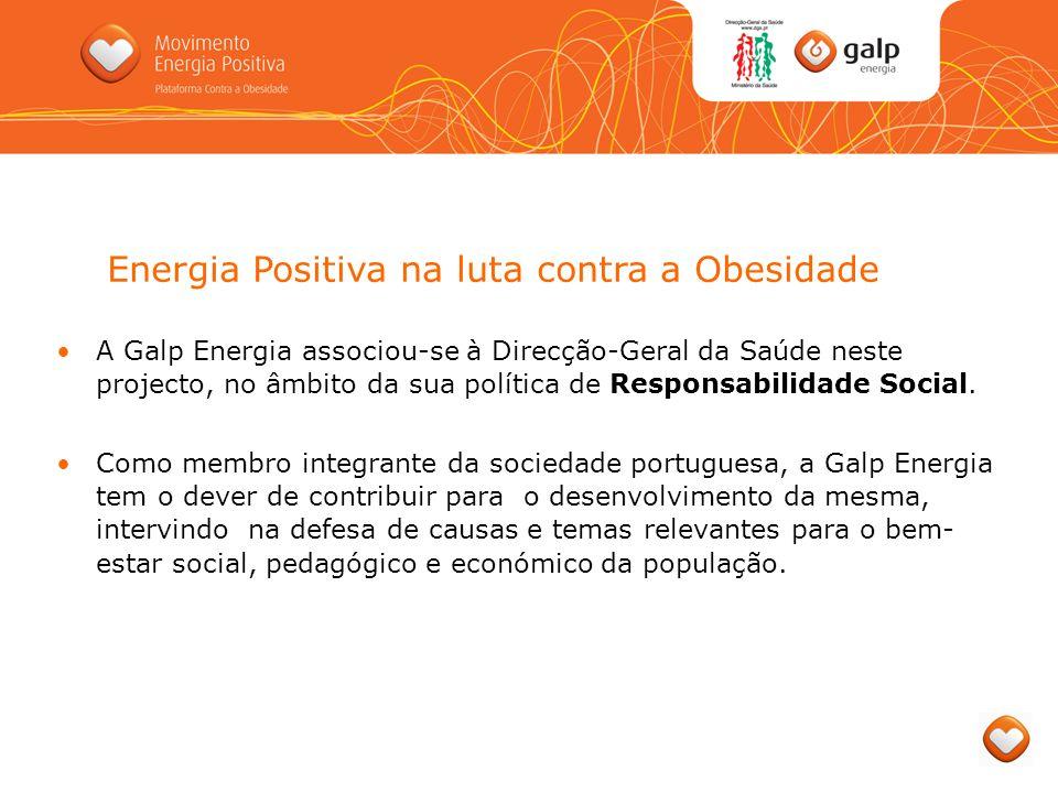 A Galp Energia associou-se à Direcção-Geral da Saúde neste projecto, no âmbito da sua política de Responsabilidade Social. Como membro integrante da s