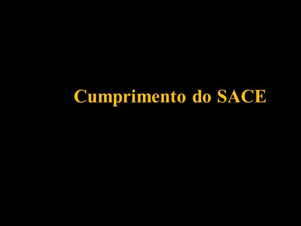 Cumprimento do SACE