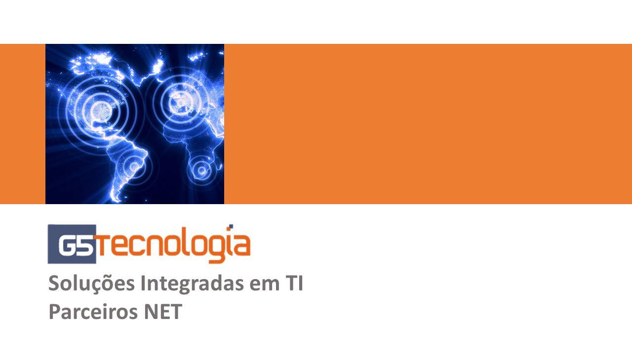 Resumo Parceria NET Clientes Serviços Projetos Outsourcing Monitoramento de Ambientes de TI