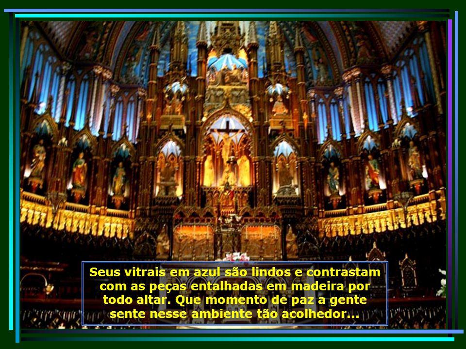 A construção da belíssima igreja foi um dos projetos arquitetônicos mais arrojados do Séc. XIX, obra do arquiteto James ODonnell...