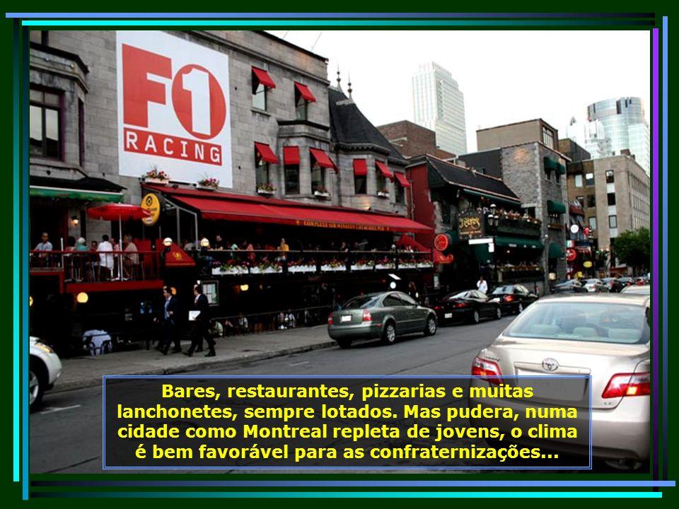 Chinatown, o espaço asiático dentro de Montreal, onde toda comunidade tem suas lojas oferecendo produtos diferenciados da cultura, da gastronomia e do artesanato oriental...