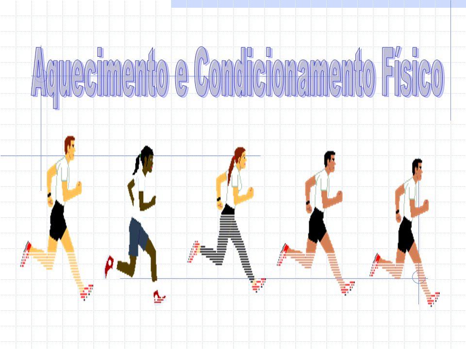 Conclusão Podemos concluir com a elaboração deste trabalho que qualquer pessoa que pratique uma actividade física, um desporto ou algum tipo de treino deve fazer antecipadamente um aquecimento de acordo com o seu organismo, a sua idade ou o seu tipo de actividade.