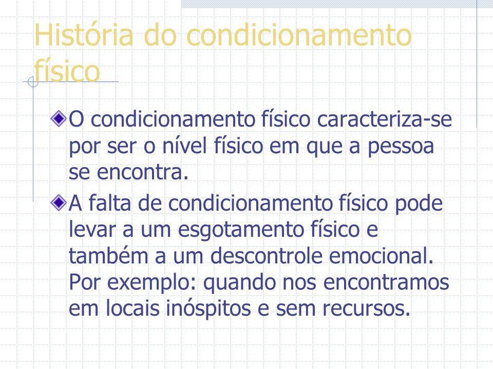 Condicionamento físico o O condicionamento físico foi fundado em 15 de março do ano 1994 e tem esse nome porque o seu fundador Helvécio Alves dos Sant