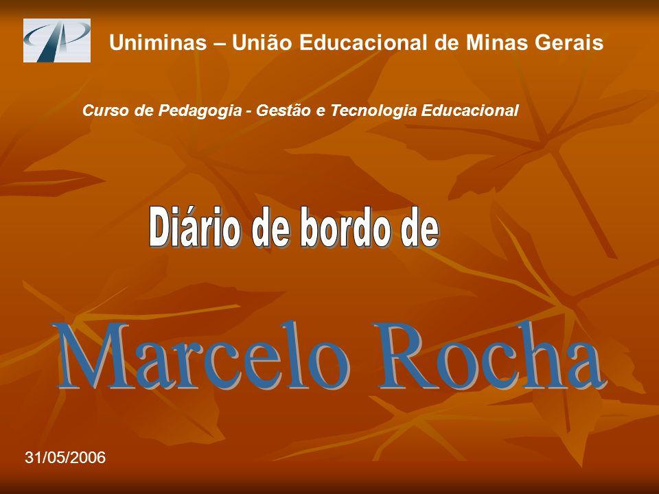 Uniminas – União Educacional de Minas Gerais Curso de Pedagogia - Gestão e Tecnologia Educacional 31/05/2006