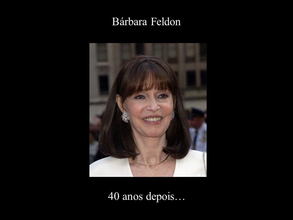 Bárbara Feldon 40 anos depois…