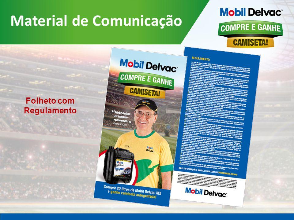 Material de Comunicação Folheto com Regulamento