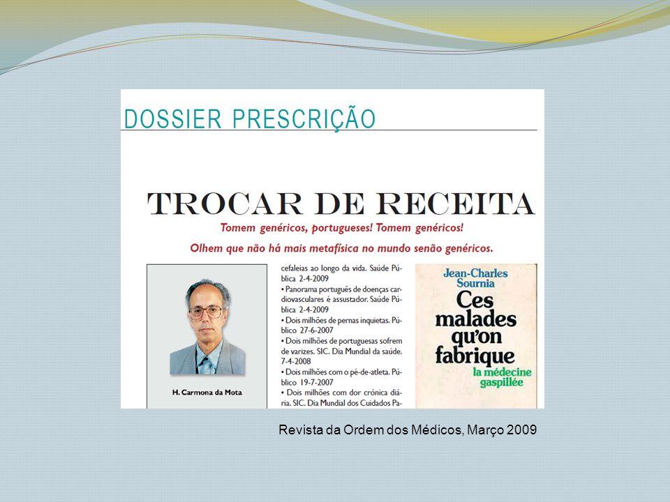 Revista da Ordem dos Médicos, Março 2009
