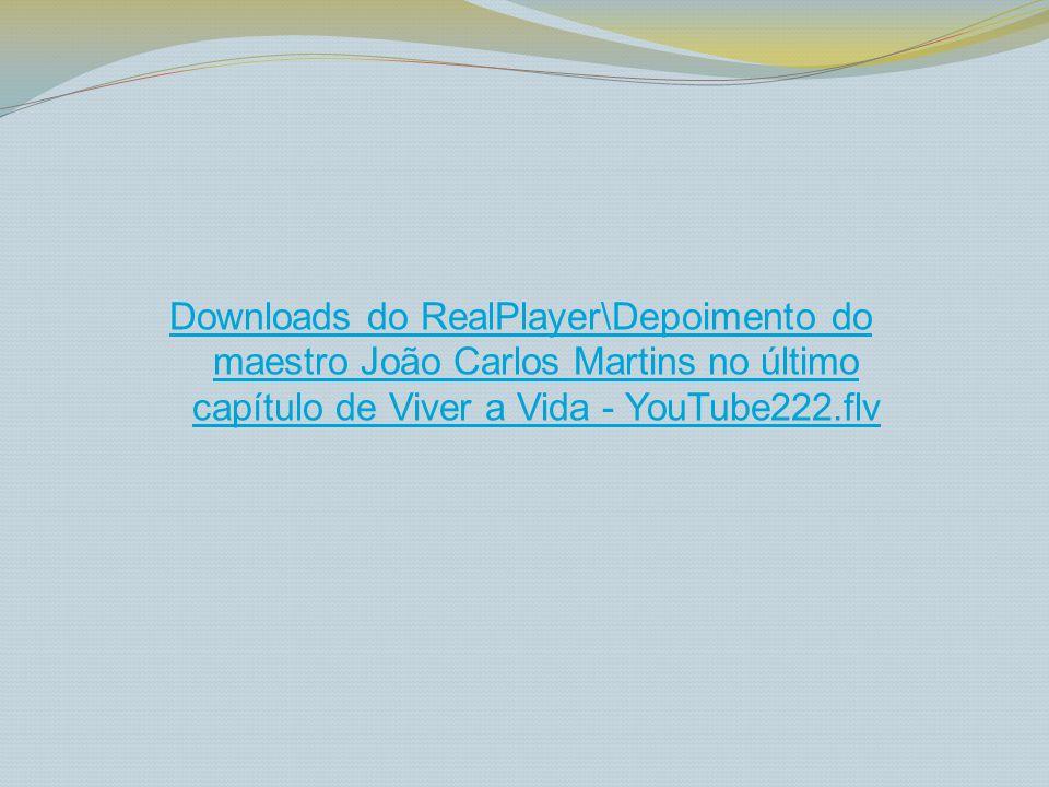 Downloads do RealPlayer\João Carlos Martins ao piano - YouTube.flv