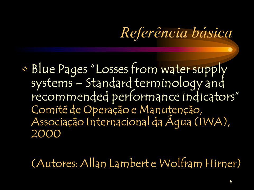 36 Metodologia de cálculo da água não facturada e das perdas reais Passo 7 (cont.): b) Avaliar, usando os melhores métodos disponíveis, o erro correspondente a cada parcela do consumo autorizado –Erro da água autorizada medida (10% contador, leitura e registo) = 10% x (695.334 + 12.950) = 70.828 m 3 –Erro da água autorizada não medida (20%) = 20% x (76.940 + 71.000) = 29.588 m 3 –Total: 70.828 + 29.588 = 100.416 m 3