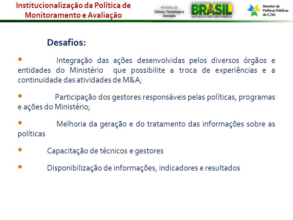 Para download do Plano: http://sigmct.mct.gov.br/index.php/content/view/704.html Para dúvidas e sugestões: ascav@mct.gov.br Plano Anual de Monitoramento e Avaliação