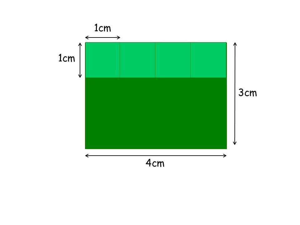 1cm 3cm 4cm