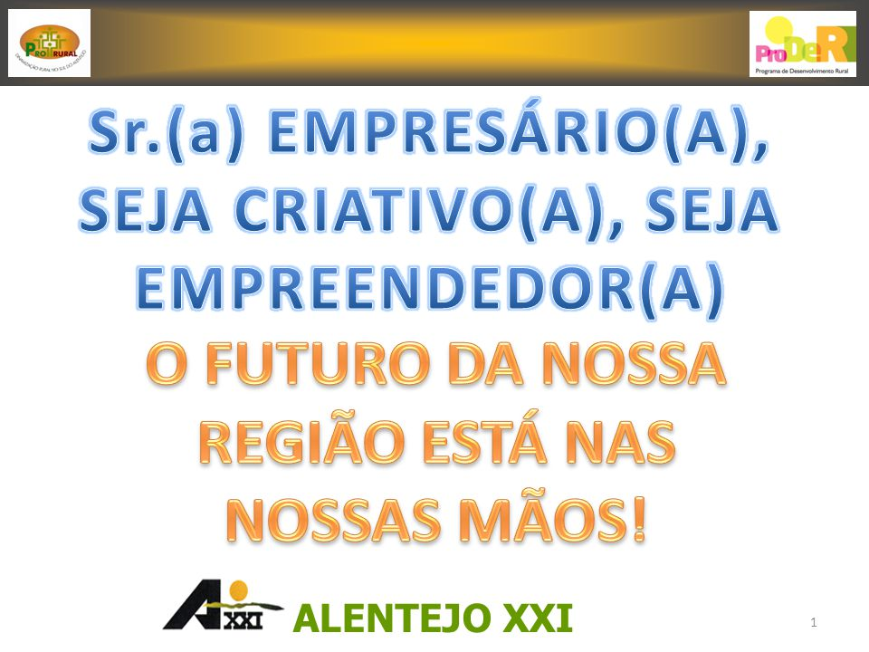 ALENTEJO XXI 1