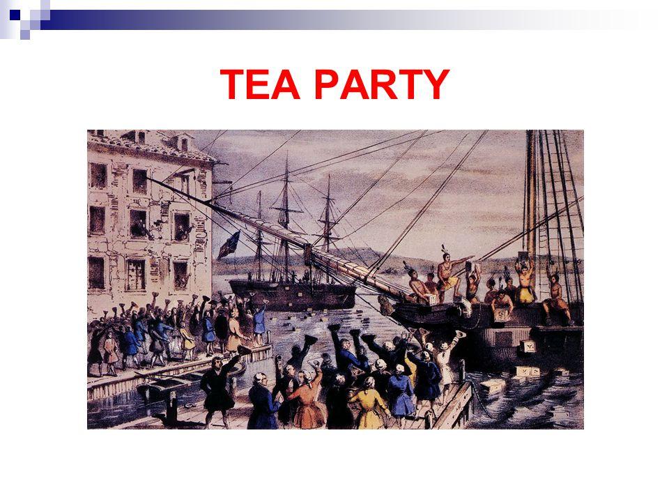 Houve grande descontentamento com um novo aumento de impostos sobre os colonos norteamericanos, motivado pela Guerra dos Sete Anos.