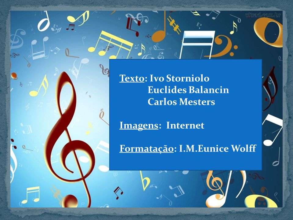 Texto: Ivo Storniolo Euclides Balancin Carlos Mesters Imagens: Internet Formatação: I.M.Eunice Wolff