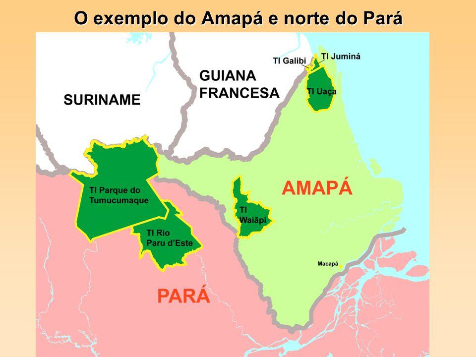 O exemplo do Amapá e norte do Pará