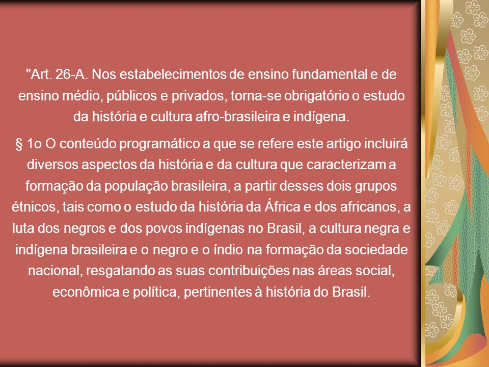(...) A heterogeneidade tanto racial quanto cultural da população brasileira,(...) leva Nina a rejeitar a unidade étnica projetada no pensamento de Sílvio Romero.