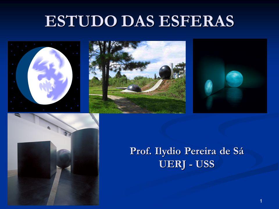 1 ESTUDO DAS ESFERAS Prof. Ilydio Pereira de Sá UERJ - USS