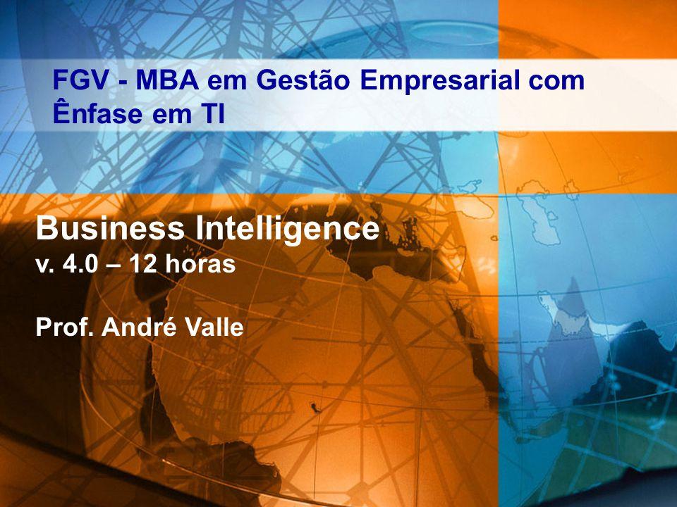 FGV - MBA em Gestão Empresarial com Ênfase em TI Business Intelligence v.