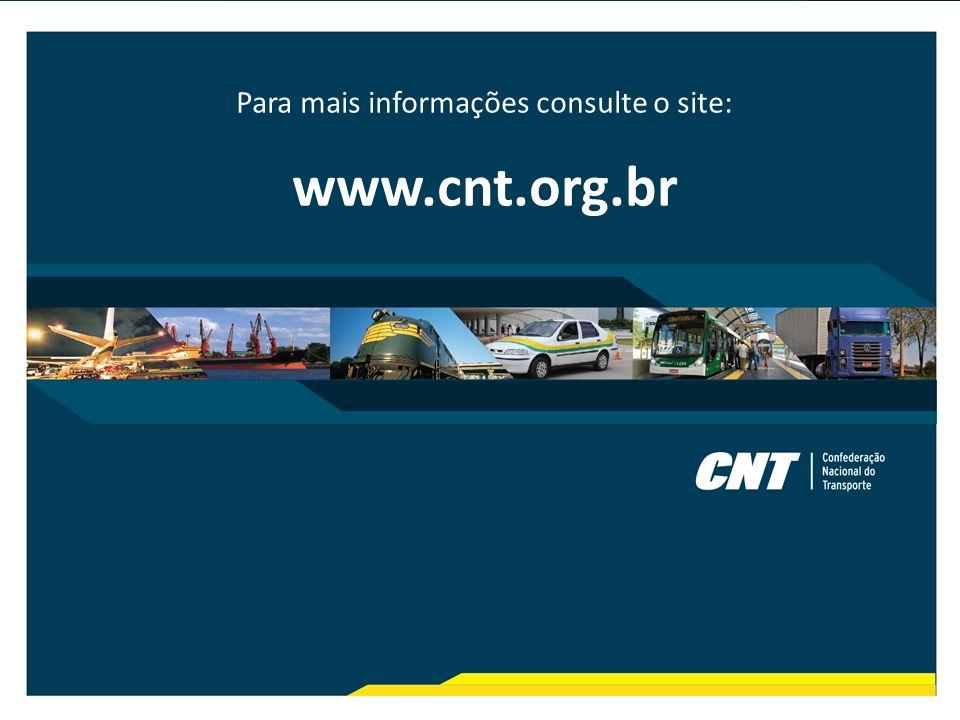 Para mais informações consulte o site: www.cnt.org.br