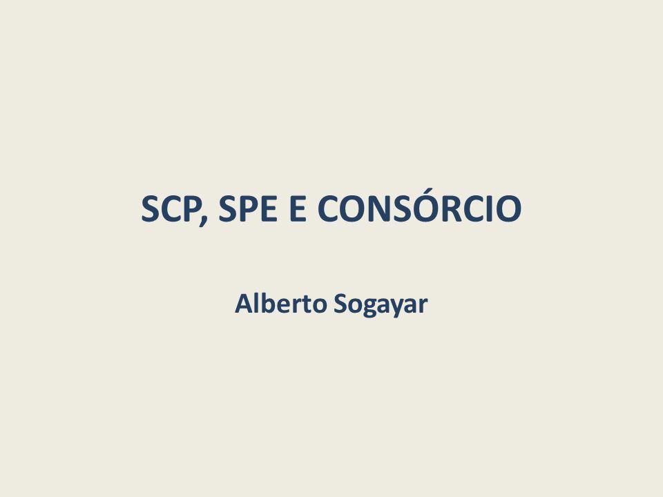 SCP, SPE E CONSÓRCIO Alberto Sogayar
