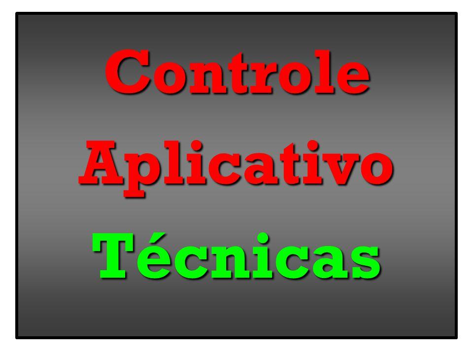 ControleAplicativoTécnicas